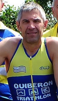 Thierry Vallon, entraineur course